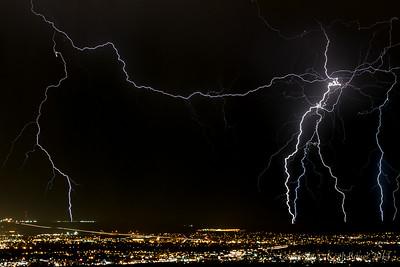 Lightning Storm over Albuquerque 3